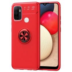 Etui na telefon RING HOLDER 4w1 red do OPPO A53 2020