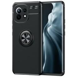 Etui na telefon ARMOR Ring Holder 4w1 Czarne do Xiaomi Mi 11