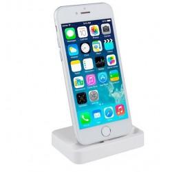 Stacja dokująca, ładowarka do iPhone 5 / 5S / SE / 6 / 6S / 7 / 7 Plus + Kabel 8pin - BIAŁA