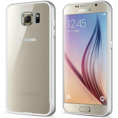 Ekskluzywne etui aluminiowe Sasmung Galaxy S6- SREBRNE