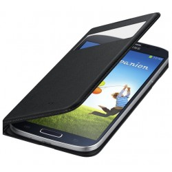 Do Samsung Galaxy S4 futerał Flip Cover S-View Smart- CZARNY