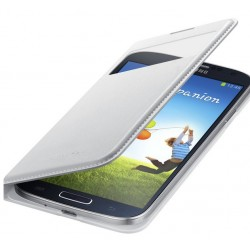 Do Samsung Galaxy S4 futerał Flip Cover S-View Smart- BIAŁE