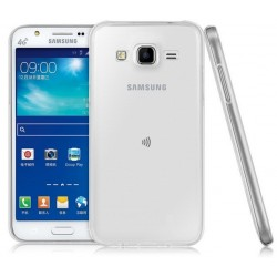 Samsung Galaxy J5 Etui Silikonowe 0,3mm + Szkło Hartowane 9H 2.5D