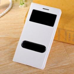 Do Samsung Galaxy S3 / S3 Neo futerał Flip Cover S-View Skórka - BIAŁE