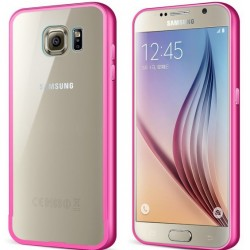 Ekskluzywne etui aluminiowe Sasmung Galaxy S6- RÓŻOWE