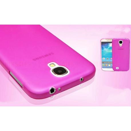 Samsung Galaxy S4 etui Bumper SLIMEST 0,3mm - RÓŻOWE
