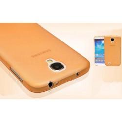 Samsung Galaxy S4 etui Bumper SLIMEST 0,3mm - POMARAŃCZOWE