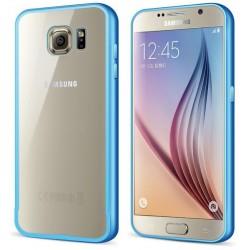 Ekskluzywne etui aluminiowe Sasmung Galaxy S6- NIEBIESKIE
