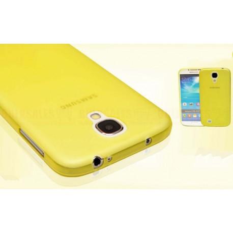 Samsung Galaxy S4 Mini etui Bumper SLIMEST 0,3mm - ŻÓŁTE