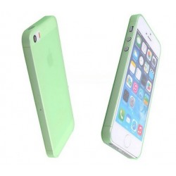 iPhone 4 / 4S/ 4G etui Bumper SLIMEST 0,3mm + Folia - ZIELONE
