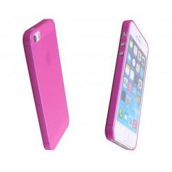 iPhone 4 / 4S / 4G etui Bumper SLIMEST 0,3mm + Folia - RÓŻOWE