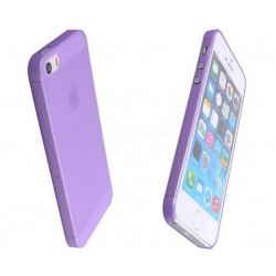iPhone 4 / 4S / 4G etui Bumper SLIMEST 0,3mm + Folia - FIOLETOWE