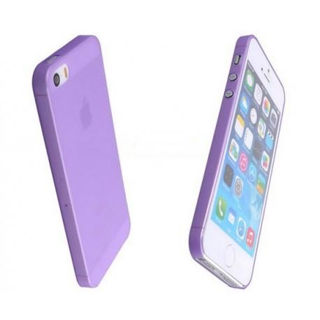 iPhone 4 / 4S / 4G etui Bumper SLIMEST 0,3mm + Folia - FIOLETOWE
