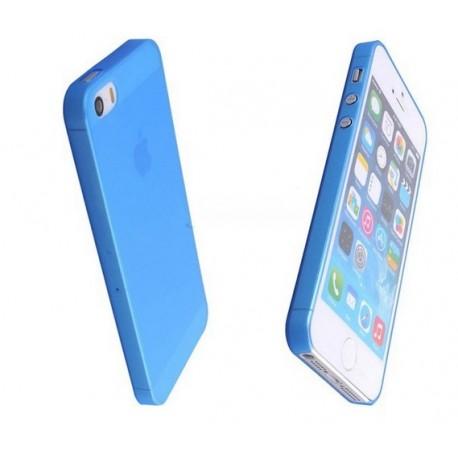 iPhone 4 / 4S / 4G etui Bumper SLIMEST 0,3mm + Folia - NIEBIESKIE
