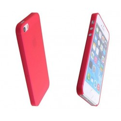 iPhone 4 / 4S / 4G etui Bumper SLIMEST 0,3mm + Folia - CZERWONE