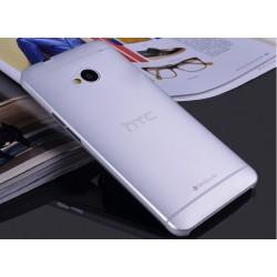 HTC One M7 etui Bumper SLIMEST 0,3mm + Folia - MLECZNE