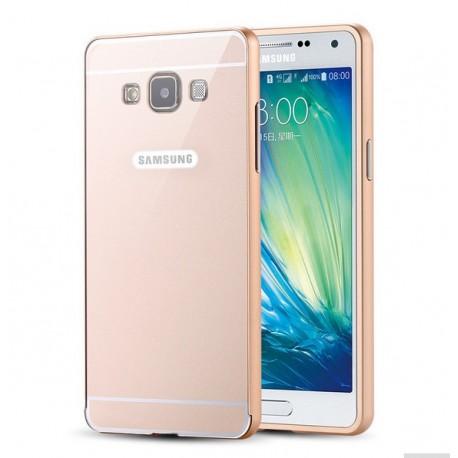 Samsung Galaxy A5- Ekskluzywne etui Aluminiowe Bumper Case- ZŁOTE