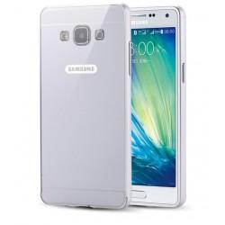 Samsung Galaxy A5- Ekskluzywne etui Aluminiowe Bumper Case- SREBRNE