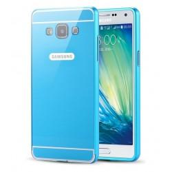 Samsung Galaxy A5 - etui Aluminiowe Bumper Case- NIEBIESKIE