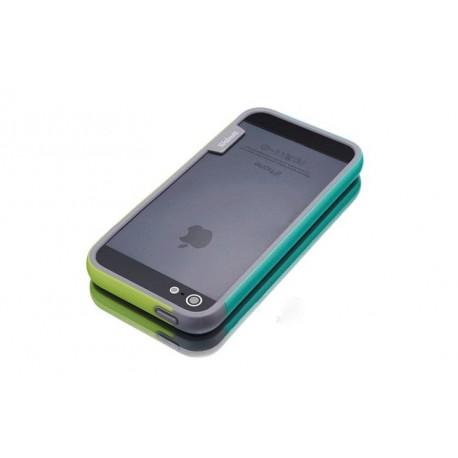 iPhone 4 / 4G / 4S  etui Bumper TRIO CASE - ZIELONE