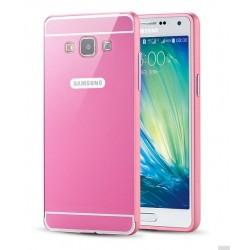 Samsung Galaxy A5 - etui Aluminiowe Bumper Case- RÓŻOWE