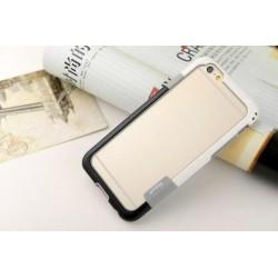 iPhone 6 / 6S  etui Bumper TRIO CASE - BIAŁO-CZARNE