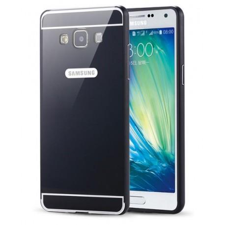 Samsung Galaxy A5 - etui Aluminiowe Bumper Case- CZARNE