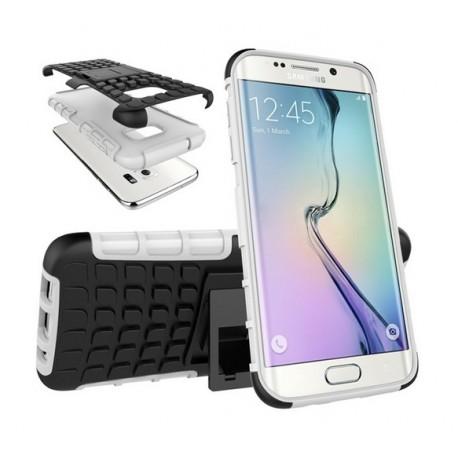Samsung Galaxy S7 EDGE Pancerne etui ARMOR CASE - BIAŁE