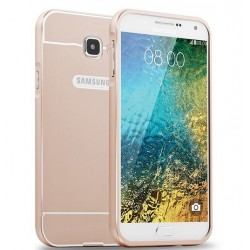 Samsung Galaxy A5 2016 - etui Aluminiowe Bumper Case- ZŁOTE