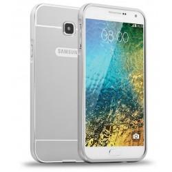 Samsung Galaxy A5 2016 - etui Aluminiowe Bumper Case- SREBRNE