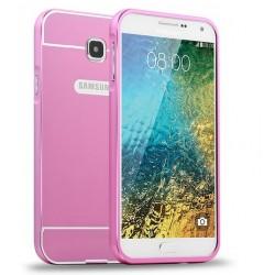 Samsung Galaxy A5 2016 - etui Aluminiowe Bumper Case- RÓŻOWE