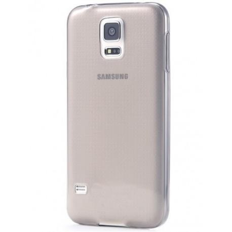 Samsung Galaxy S5 / S5 Neo Etui Silikonowe 0,3mm GRAFITOWE