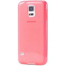 Samsung Galaxy S5 / S5 Neo Etui Silikonowe 0,3mm CZERWONE