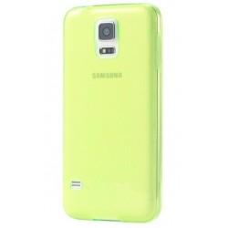 Samsung Galaxy S5 / S5 Neo Etui Silikonowe 0,3mm ŻÓŁTE