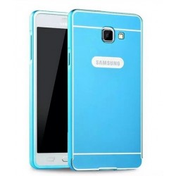 Samsung Galaxy A5 2016 - etui Aluminiowe Bumper Case- NIEBIESKIE