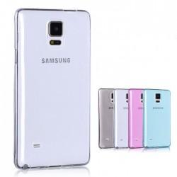 Samsung Galaxy Note 4 - Etui Silikonowe Slim 0,3mm- Transparentne