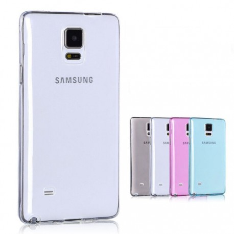 Samsung Galaxy Note 4 - Etui Silikonowe Slim 0,3mm- Transparentne