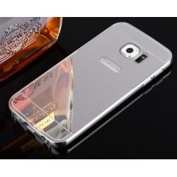 Samsung Galaxy S7, etui Bumper Aluminiowe Mirror- SREBRNE