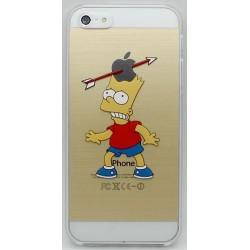 Etui Apple  iPhone 4 / 4S Crystal Case Bart strzała