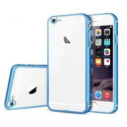 Etui Apple  iPhone 6 / 6S Aluminiowy Bumper Futerał- NIEBIESKIE
