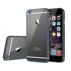 Etui Apple  iPhone 6 / 6S Aluminiowy Bumper Futerał- GRANATOWE