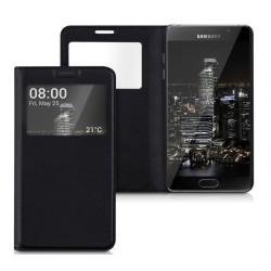 Do Samsung Galaxy A5 2017  futerał etui Flip Cover Case- CZARNE