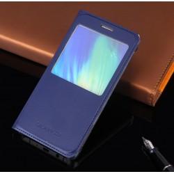 Do Samsung Galaxy A5 2017  futerał etui Flip Cover Case- GRANATOWE