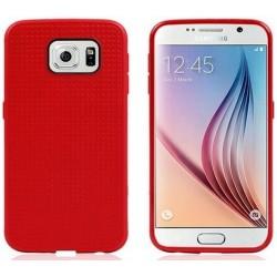 Samsung Galaxy S6 etui GUMA Plaster Miodu - CZERWONE