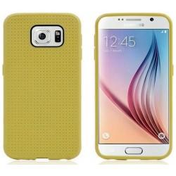 Samsung Galaxy S6 etui GUMA Plaster Miodu - ŻÓŁTE