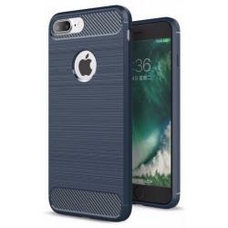 Etui Karbon ARMOR Guma iPhone 7 Plus - Granatowe