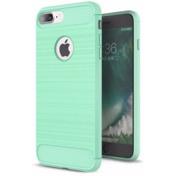 Etui Karbon ARMOR Guma iPhone 7 Plus - Miętowe