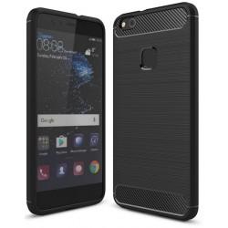Huawei P10 Lite Etui Karbon ARMOR Guma- Czarne