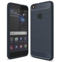 Huawei P10 Lite Etui Karbon ARMOR Guma- Granatowe