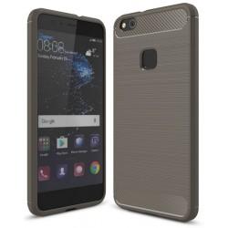 Huawei P10 Lite Etui Karbon ARMOR Guma- Grafitowe